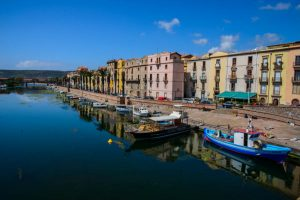 Bosa; Reflections, Cobbled Streets & a Medieval Castle. Sardinia
