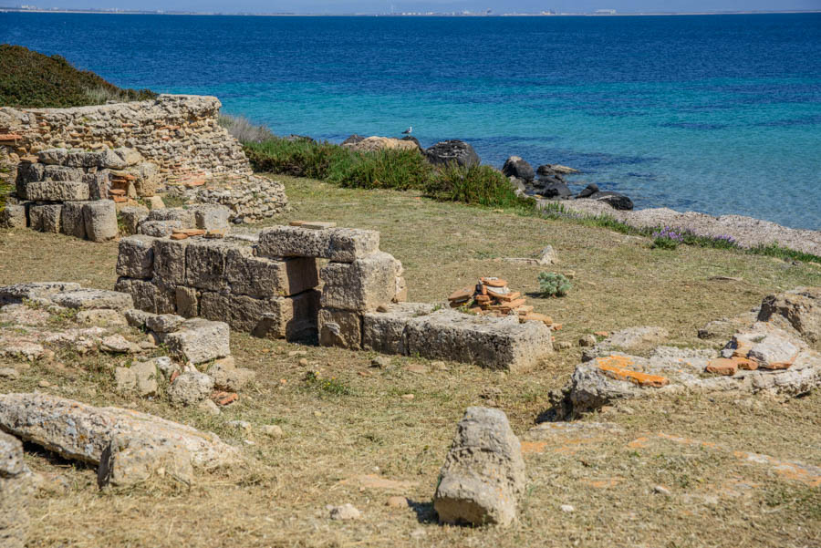Tharros; Roman City & Spanish Tower. Sardinia