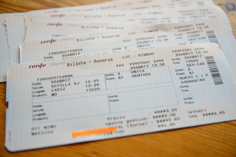 train tickets in Spain