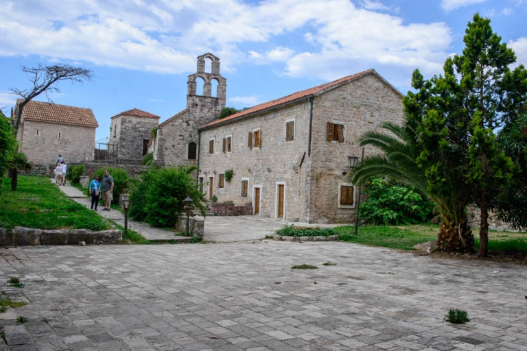 Inside the old town of Budva