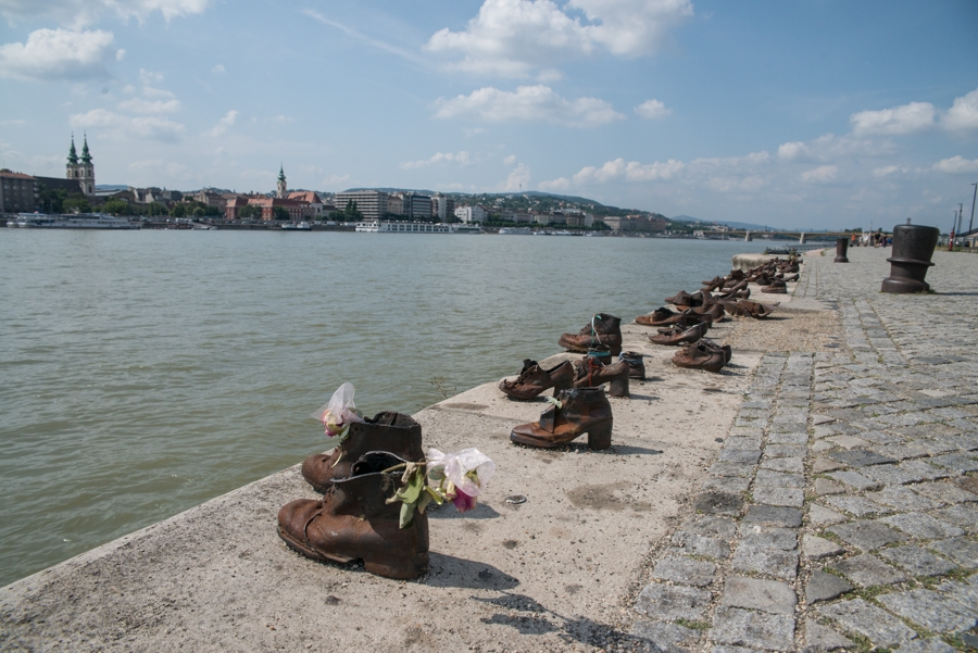Shoes on the Danube Bank, Budapest.