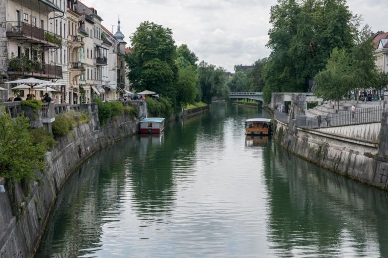 Ljubljana boat cruise