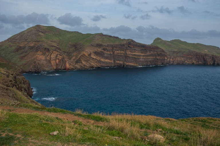 The cliffs at the beginning of the hike, PR8