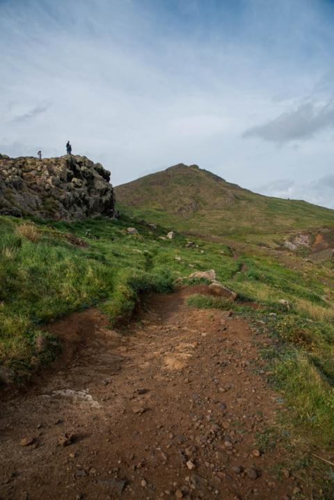 The start of hike PR8 on Madeira Island