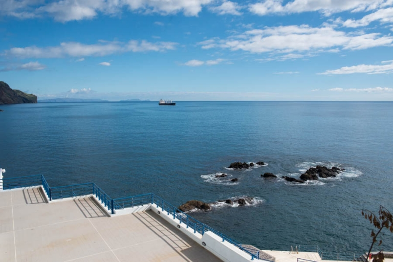 View over the Atlantic Ocean from Madeira Island