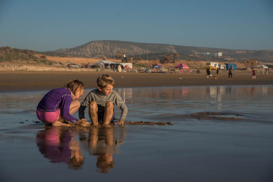 It's a beach life… beaches near Agadir which we can recommend. Morocco