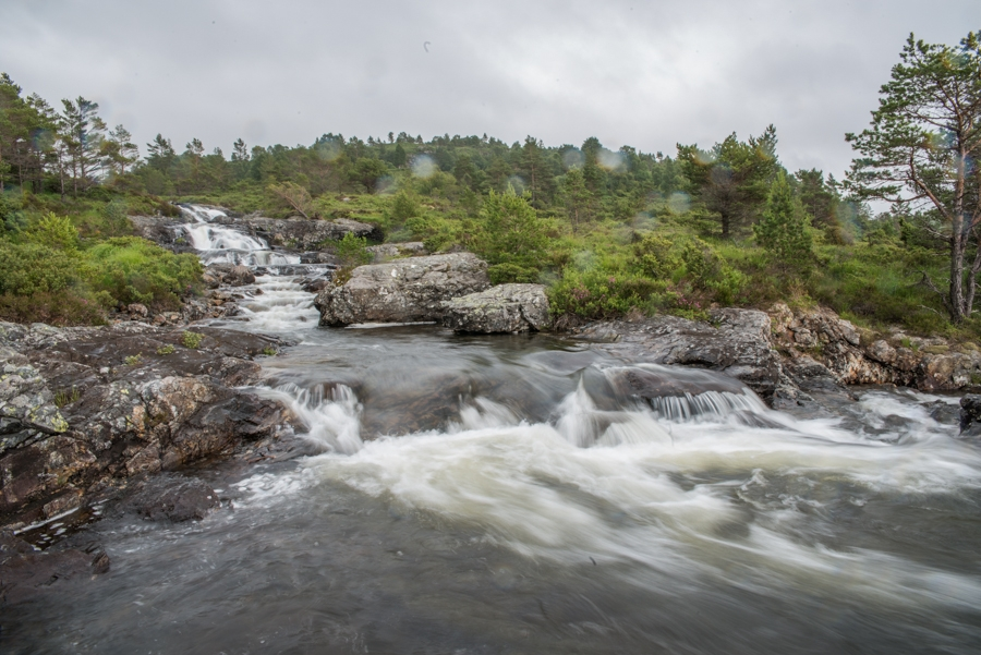 We climbed Tveitaelvo Waterfall in Stord