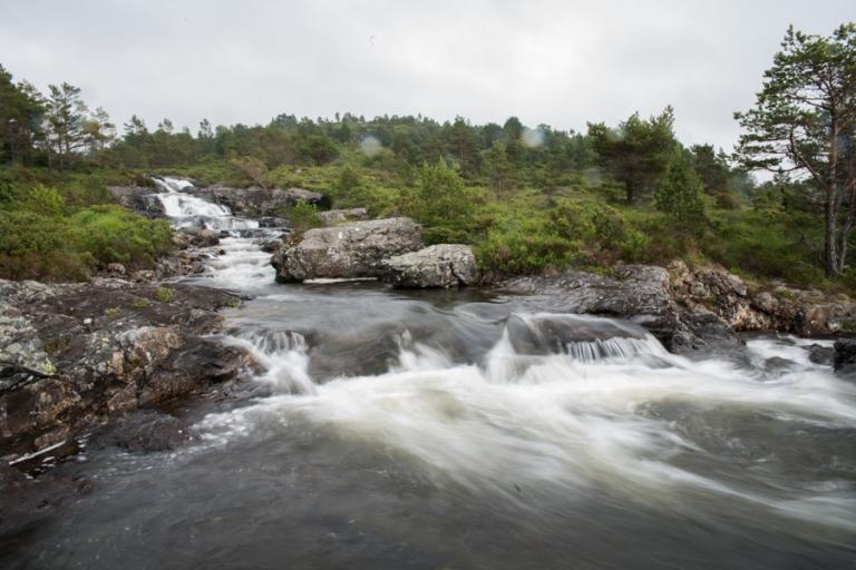 Tveitaelvo Waterfall Stord