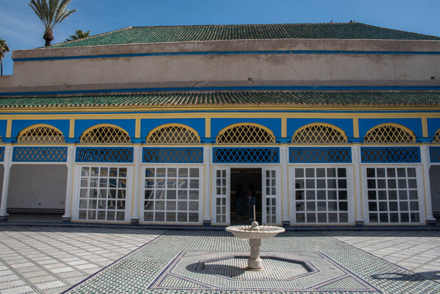 A photo tour around the palace of Bahia, Marrakech