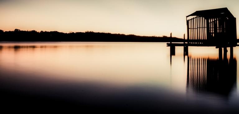 Maroochydore River Boathouse Sunrise