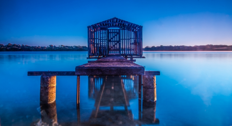 Maroochydore River Boathouse Sunrise