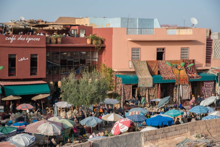 Marrakech Medina from above