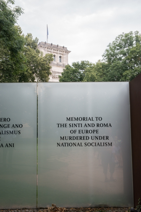 Sinti Roma Memorial Berlin