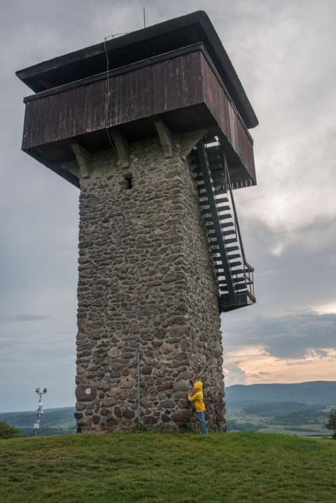Krupina Watchtwer, Vartovka, Slovakia.