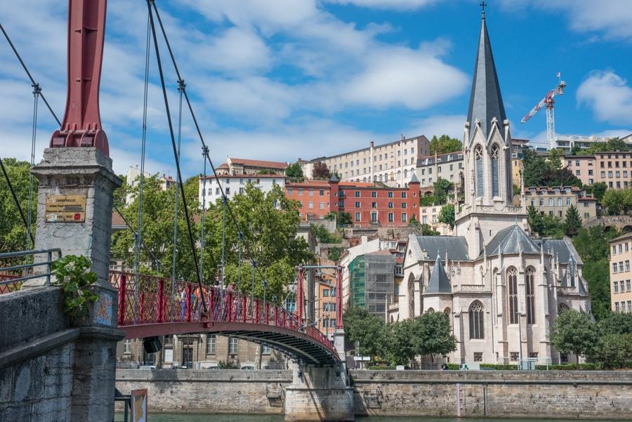 Vieux Lyon; churches & cobbled streets
