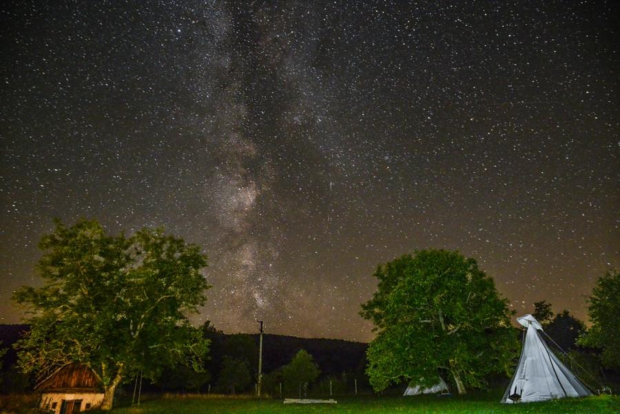 Tepee living, Slovakia