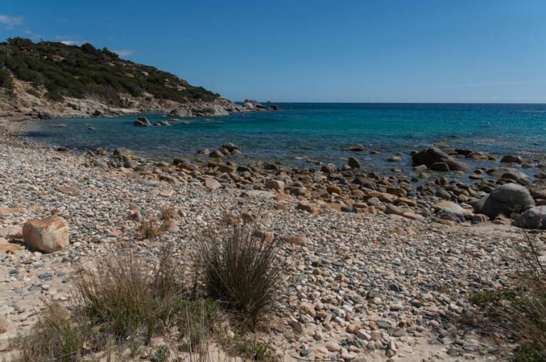 Rocky cove on Sardinia
