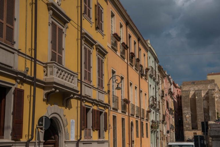 Buildings on sardinia