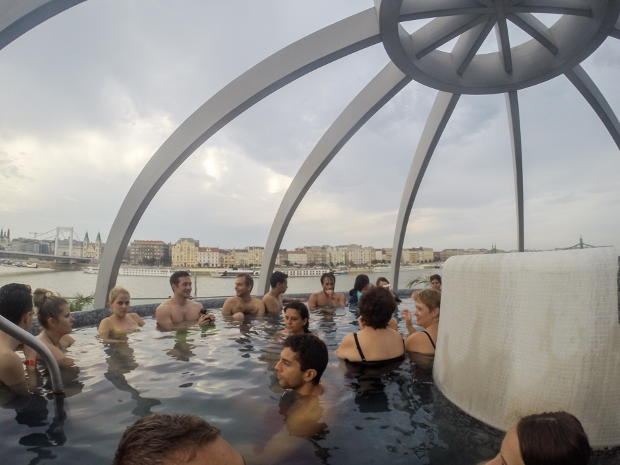 thermal baths with kids in Budapest