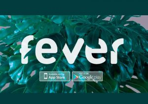 Testing out Fever; a London based phone App