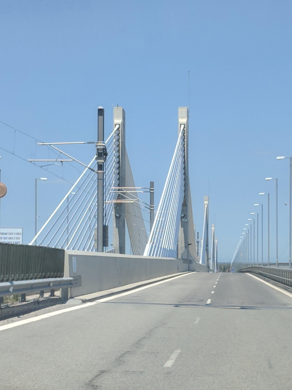The Vidin Danube Bridge